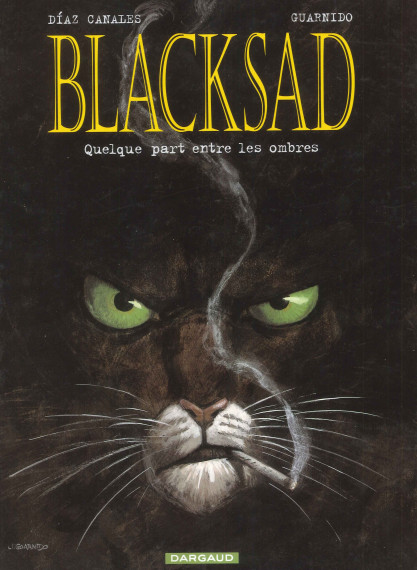 Juanjo Guarnido - ©Blacksad, Díaz Canales en Juanjo Guarnido, Dargaud test