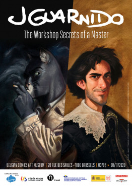 Juanjo Guarnido, The Workshop Secrets of a Master - POSTER EN
