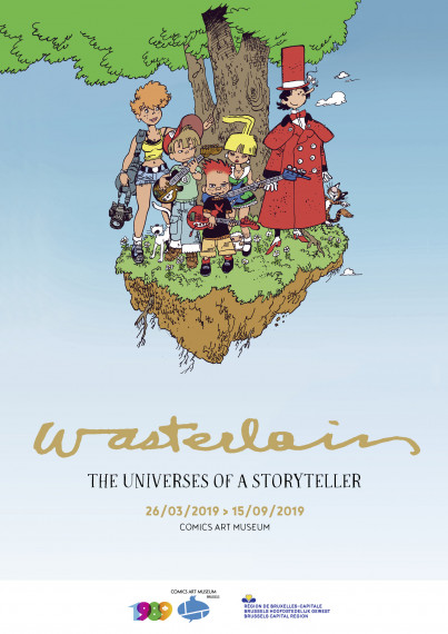 Wasterlain, The Universes of a Storyteller -  test