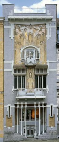 Een art nouveau meesterwerk belgisch stripcentrum museum brussel - Deco entree in het huis ...